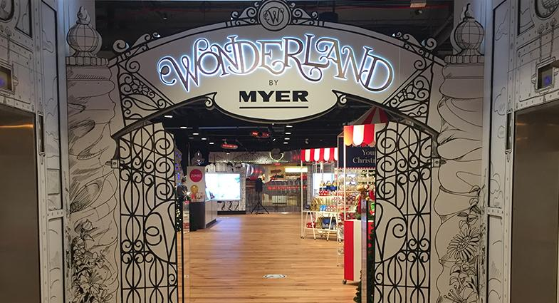 161129_Myer Wonderland opens in Sydney City